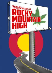 Rocky Mountain High Billboard