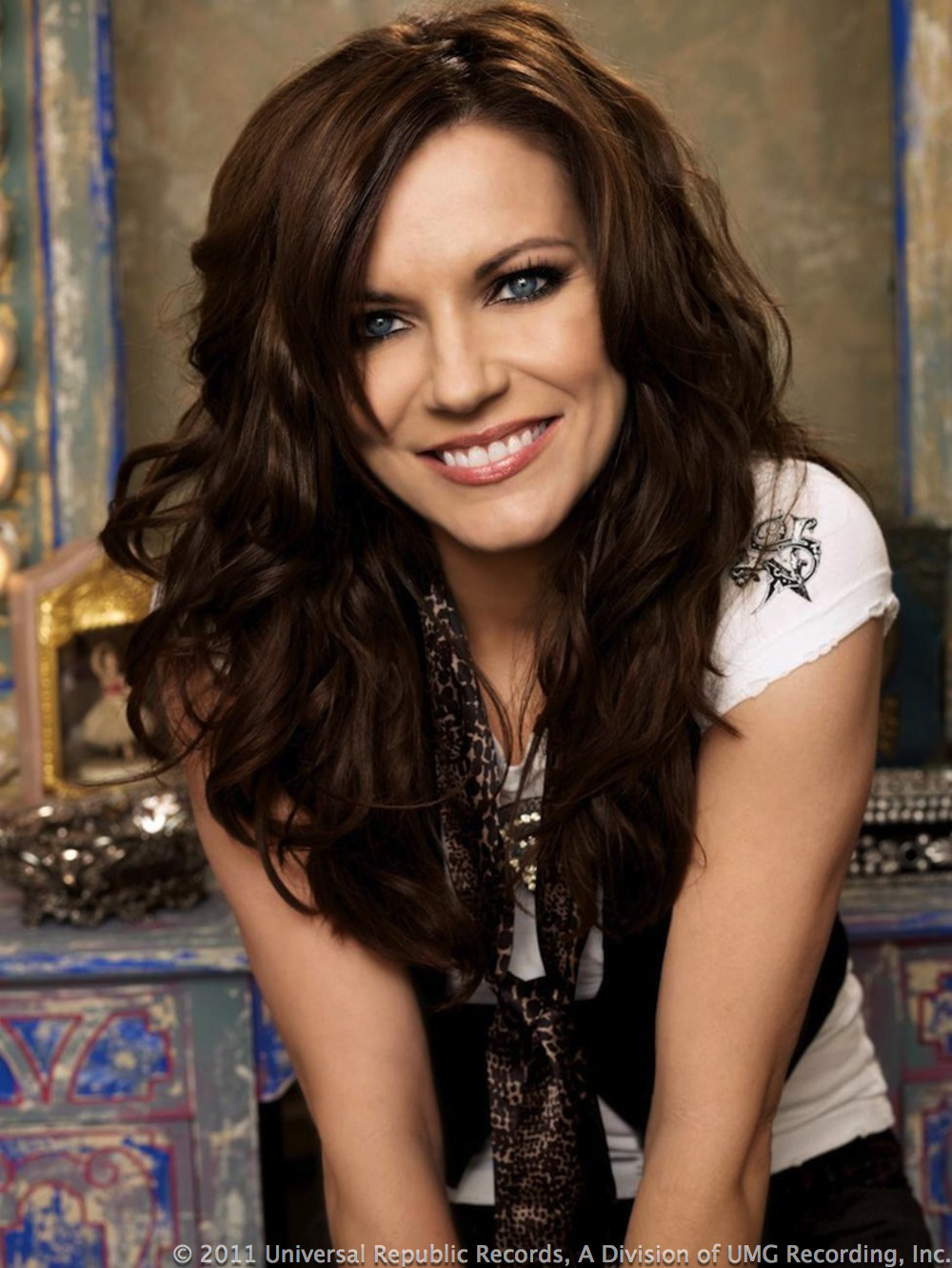 Martina McBride earned a  million dollar salary - leaving the net worth at 12 million in 2018
