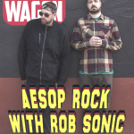 January 2015 – Aesop Rock and Rob Sonic