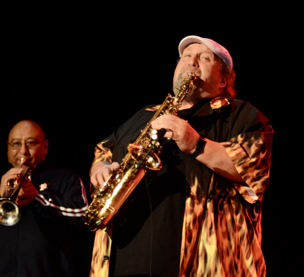 Mike Zito's Big Blues Band - photo by Peary Schroeder