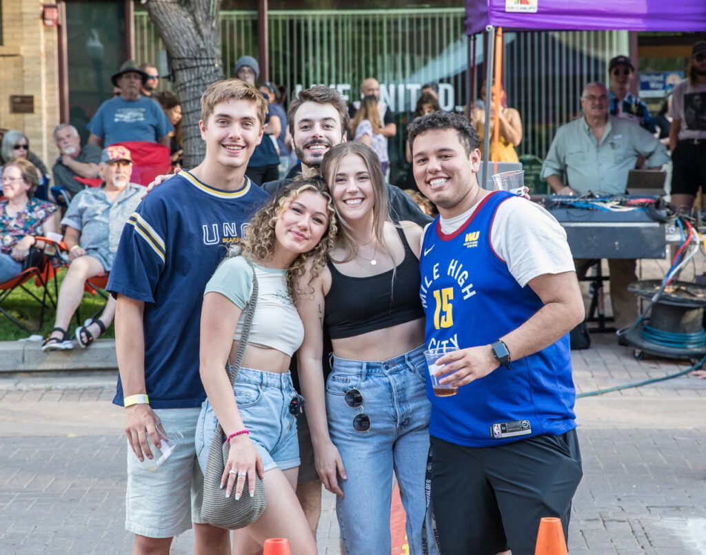 Friday Fest Fans - photo by Backstage Flash