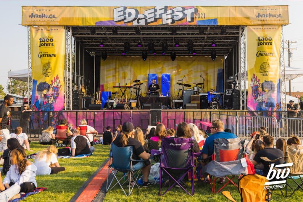 DJ Sundown: Edge Fest, 2021 - by Keith Forney